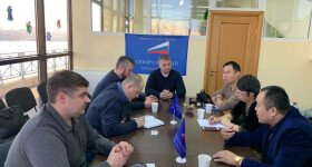 "In PKO ""OPORA RUSSIA"", we met a delegation of entrepreneurs from Shandong province (China)"