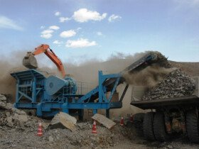 SKD assembly production of SANME crushing and screening equipment in Primorsky Krai